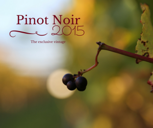 pinot Noir the exclusive vintage